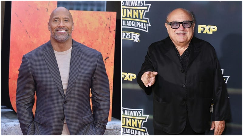 Watch Dwayne Johnson & Danny DeVito Crash a Wedding in Mexico