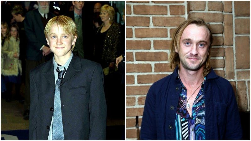 tom felton draco malfoy young and old then and now