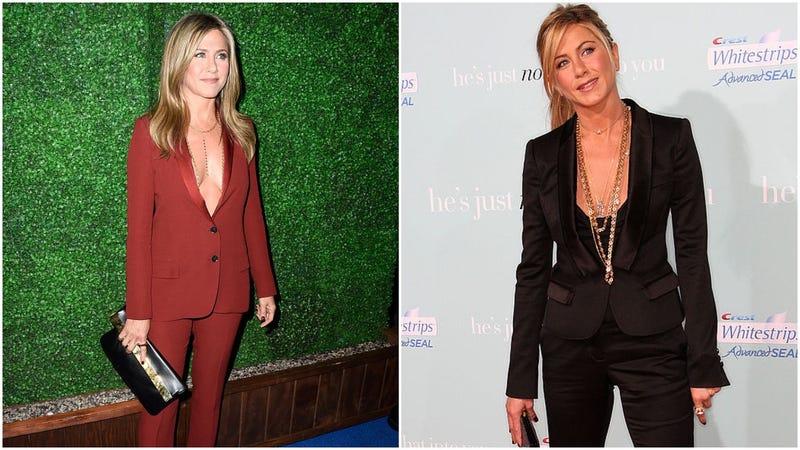 Rockin' The Suit With Jennifer Aniston