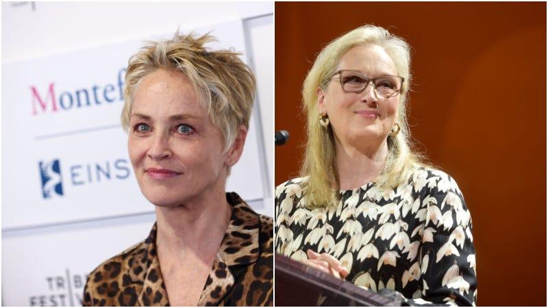 Sharon Stone (left) / Meryl Streep (right)