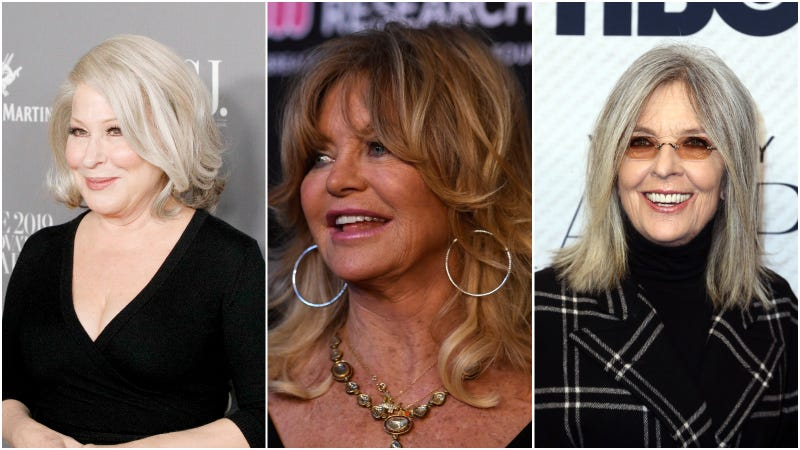 bette midler, goldie hawn and diane keaton