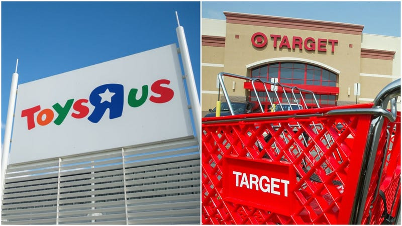 Toys R Us Back Online As Target Helps