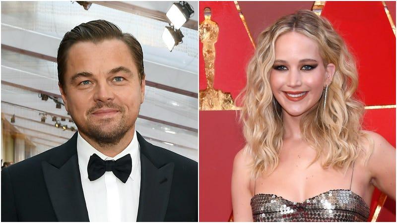 Leo DiCaprio, Jennifer Lawrence