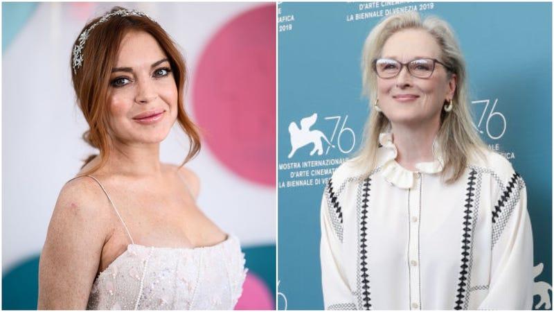 Lindsay Lohan and Meryl Streep