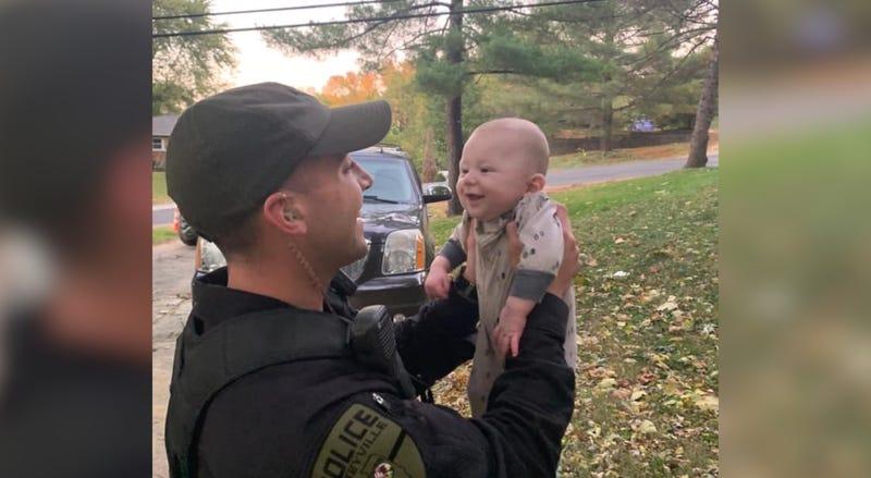 Caseyville officer saves choking infant