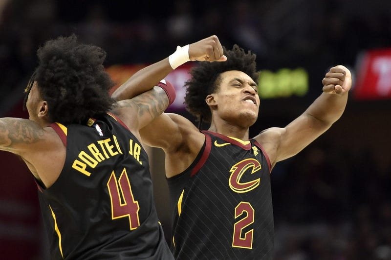 Kevin Porter Jr. and Collin Sexton