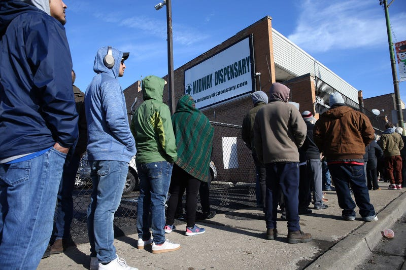 Marijuana Chicago Sales