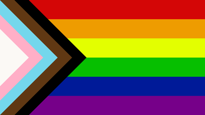 Progressive Pride Flag 2020