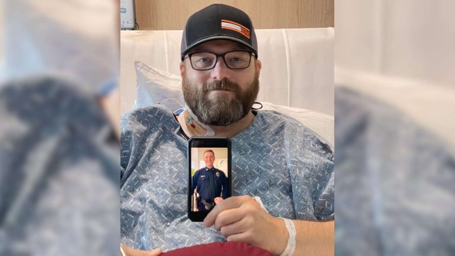 'I hope I can honor him'┃Kidney donated by fallen Missouri cop saves another officer's life