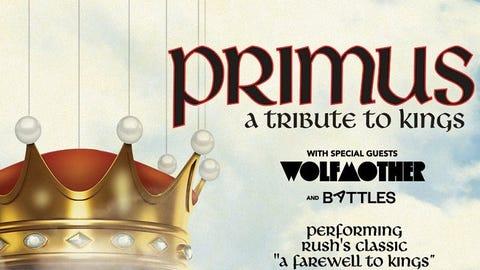 Primus - RESCHEDULED