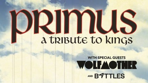 KISW Presents PRIMUS – A Tribute To Kings - NEW DATE
