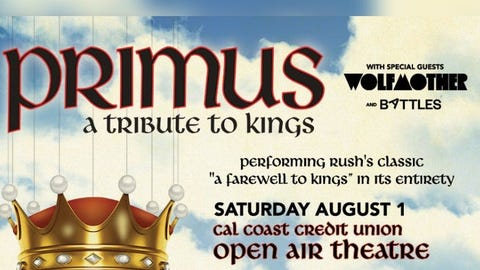 Primus + Wolfmother (NEW Date)