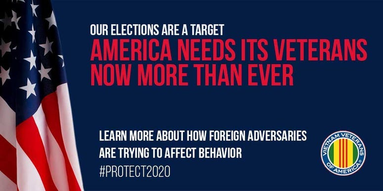 VVA disinformation prevention campaign