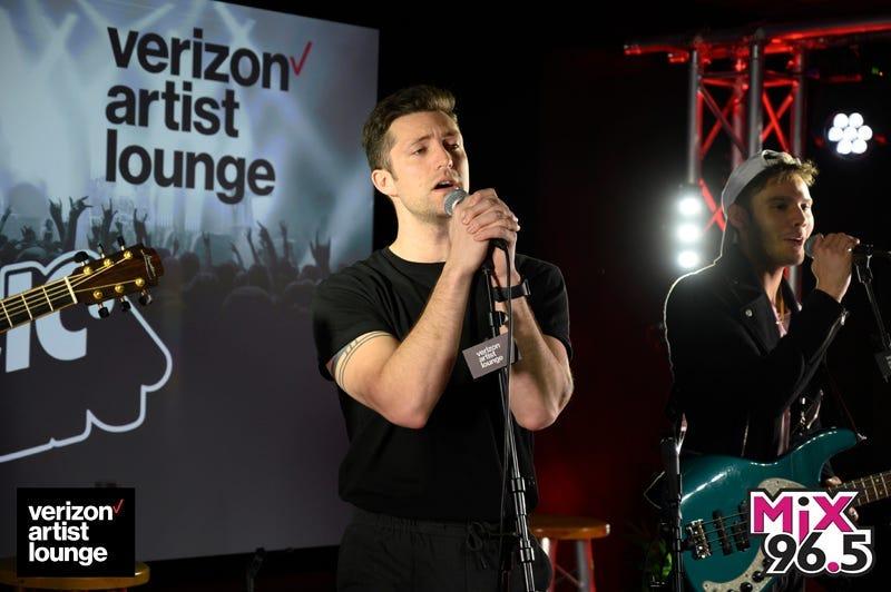 Public in the Verizon Artist Lounge