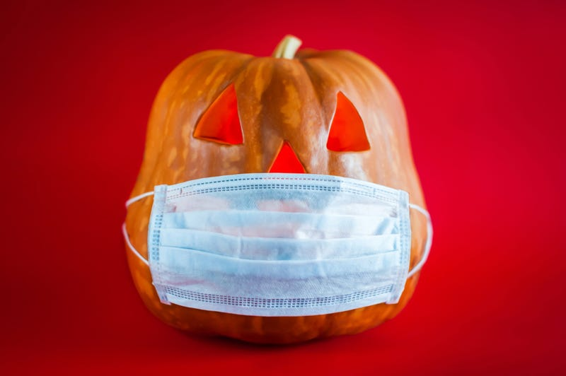 Pumpkin And Mask