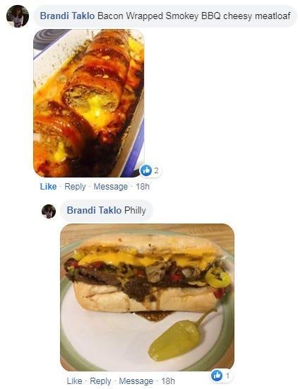 Brandi's meatloaf masterpiece