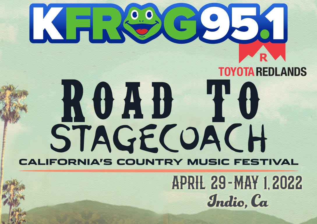 K-FROG's Road To Stagecoach!