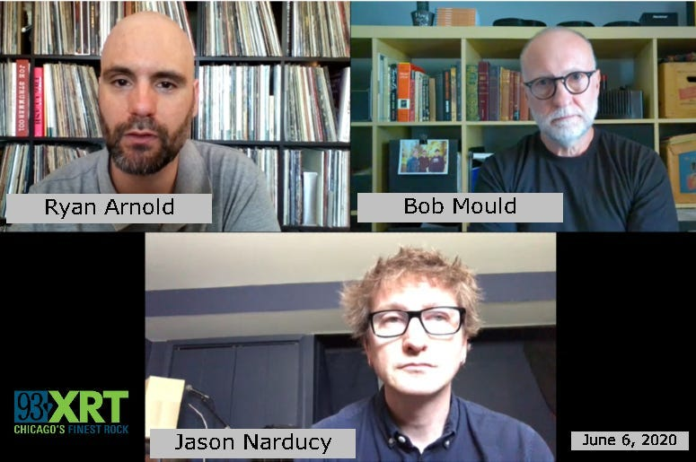 """Bob Mould and Jason Narducy talk with Ryan Arnold about """"American Crisis"""""""