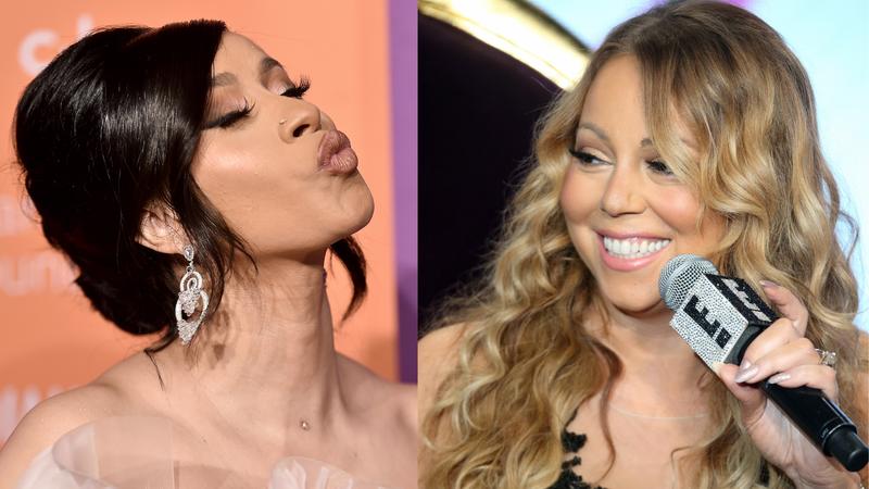 Cardi B., Mariah Carey