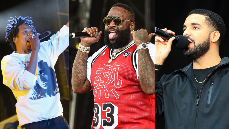 Jay-Z, Rick Ross & Drake