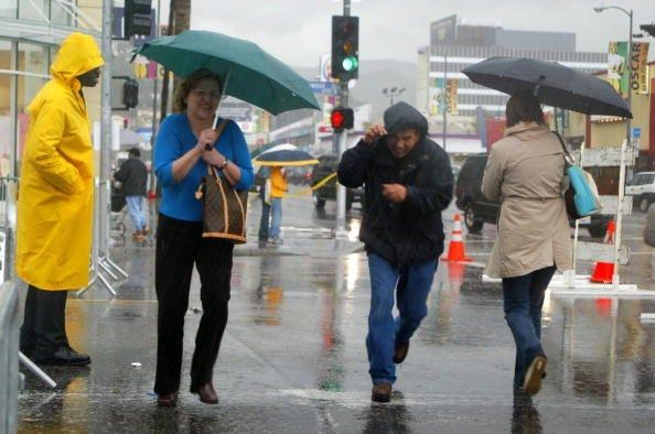 rain in California