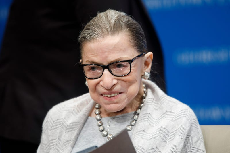 Justice Ruth Bader Ginsburg in Sept., 2019