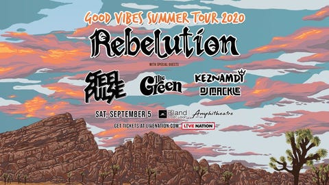 Rebelution (NEW Date)