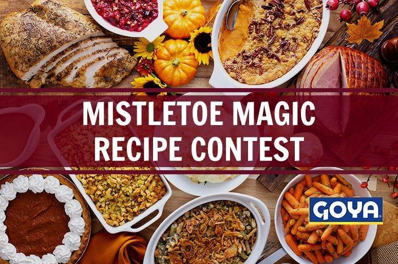 Mistletoe Magic Recipe Contest