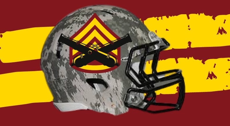 Washington Warriors could be a new brand that honor our military