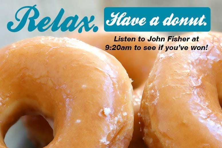 Relax. Have a Donut