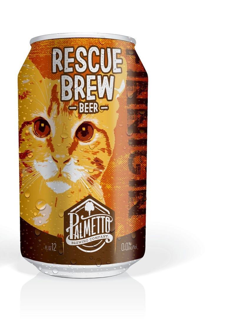 Palmetto Brew - Rescue Brew Beer Can