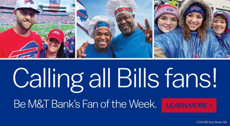 M&T Bank Bills Fan Friday