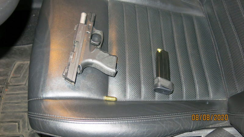 Riverside police bust man drinking while driving with loaded handgun