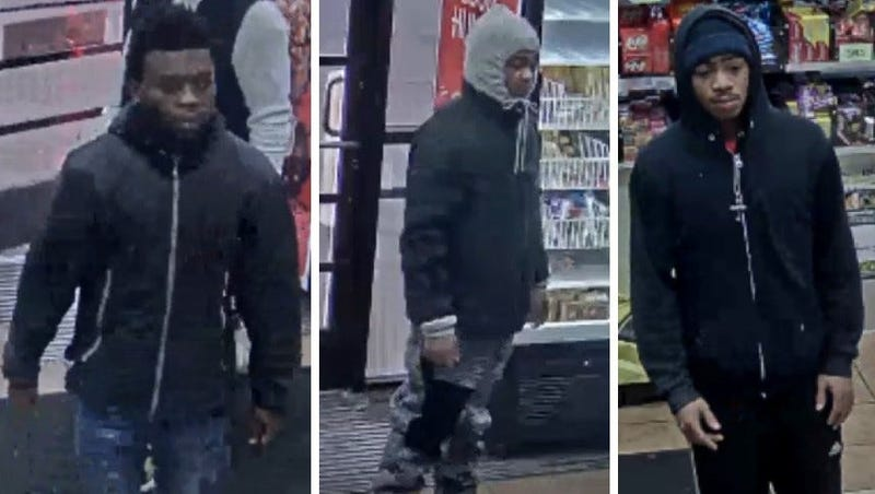 Robbery suspects - 12050 Grand River