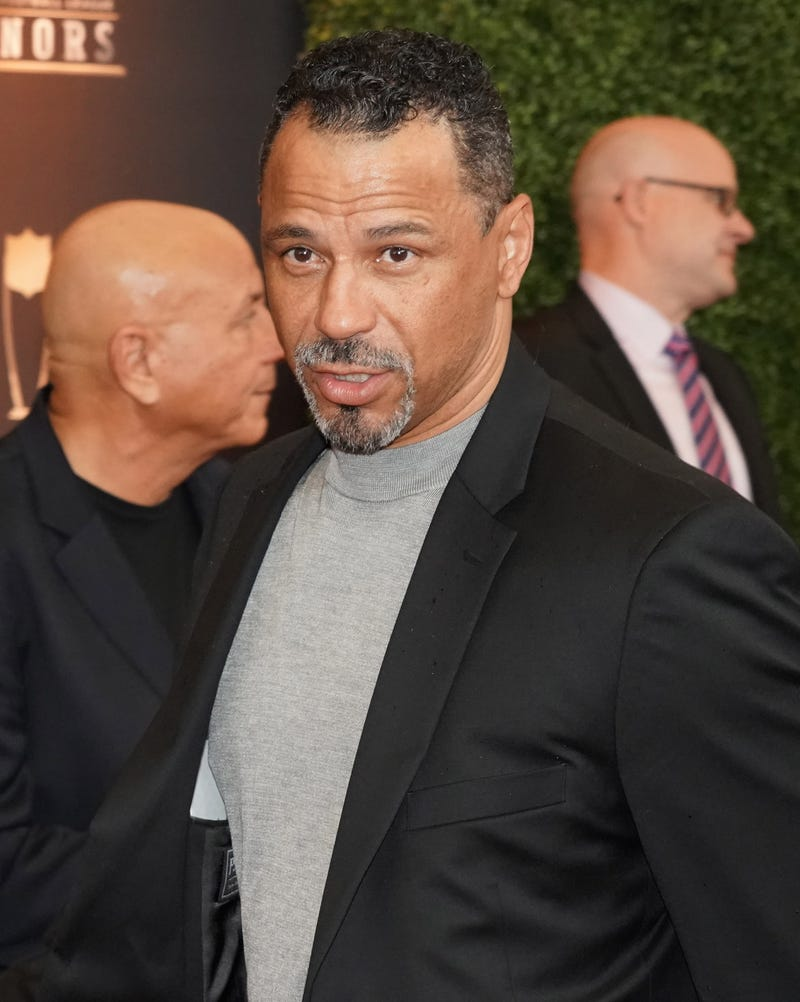 Rod Woodson on the red carpet during the NFL Honors awards presentation at Adrienne Arsht Center.