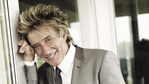 Rod Stewart with Cheap Trick