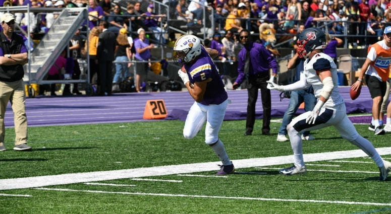West Chester senior wide receiver Lex Rosario leads the team with 32 catches this season.