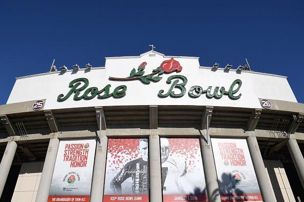 Rose Bowl in Pasadena, Calif.