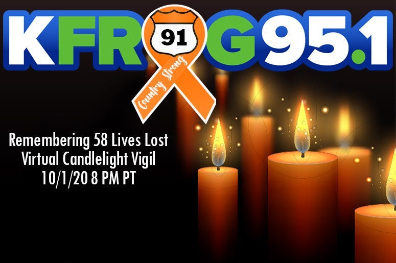 Route 91 Candlelight Vigil