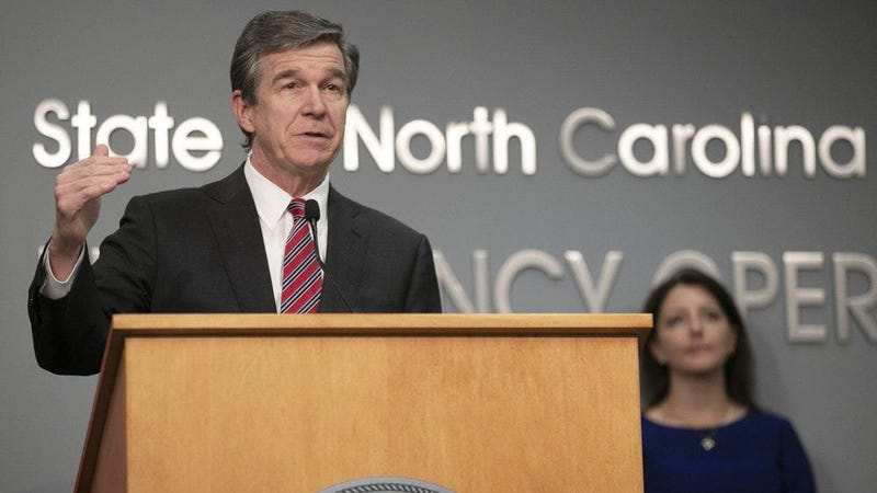 North Carolina Governor Roy Cooper