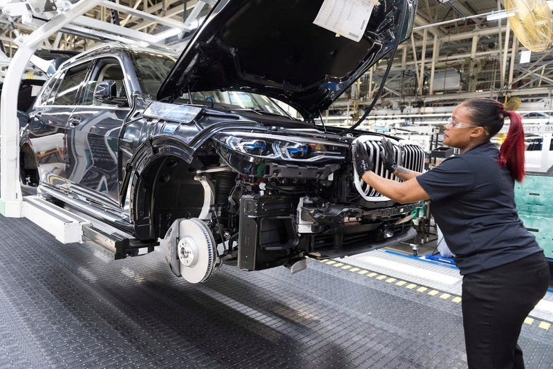 BMW Manufacturing to resume production.