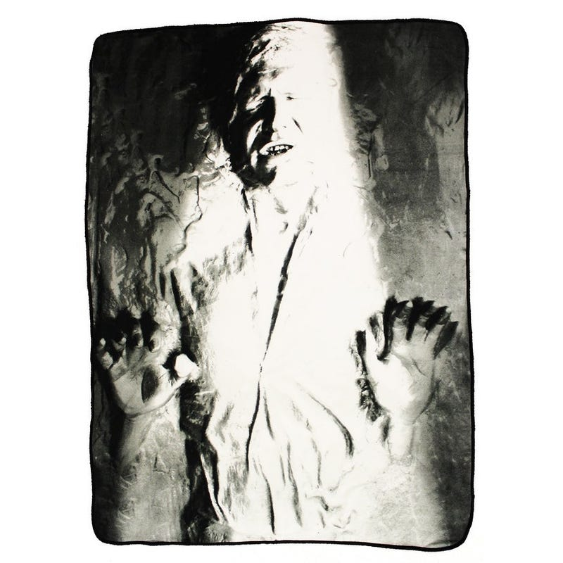 Han Solo in Carbonite throw rug