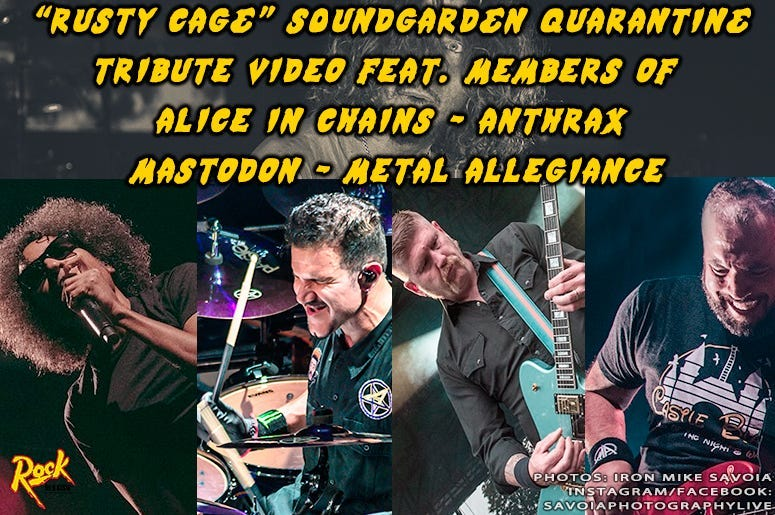 Rusty Cage Soundgarden Tribute Video