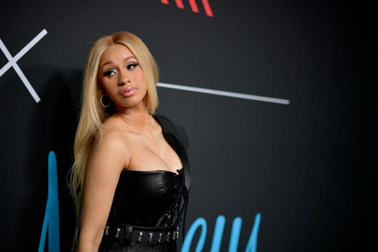 Cardi B is discussing dark corners of her past after an old video circulated on social media over the weekend.