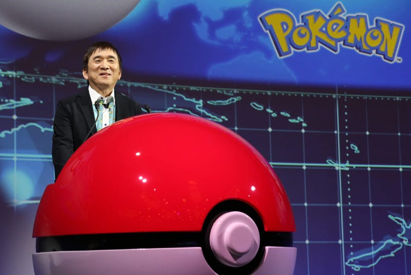 Pokemon Co. president