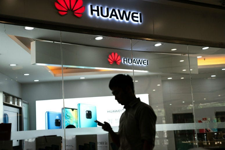 """Six weeks after Huawei was blacklisted by the US government, President Donald Trump had what the Chinese telecom firm described as a """"U-turn."""""""