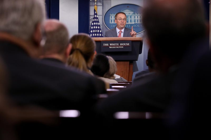 President Donald Trump is not pleased with acting chief of staff Mick Mulvaney's press briefing and his acknowledgment on Thursday of a quid pro quo, according to a source close to the President.