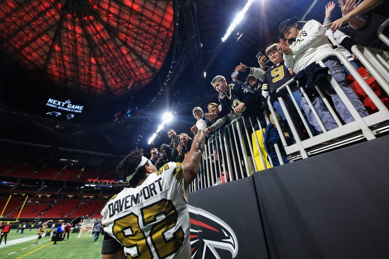 New Orleans Saints Mercedes-Benz Stadium Atlanta
