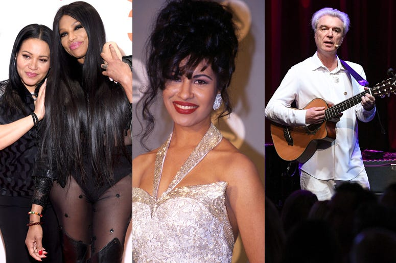 Salt n Pepa, Selena, David Byrne