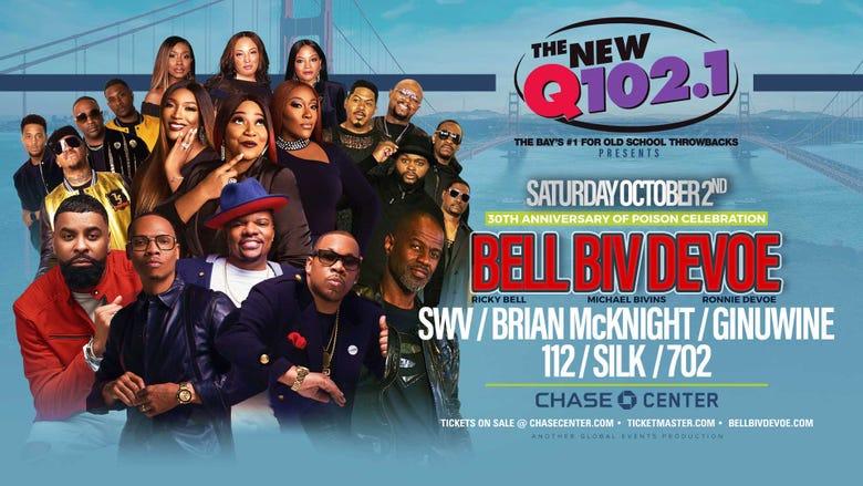 Q102 Presents: Bell Biv DeVoe